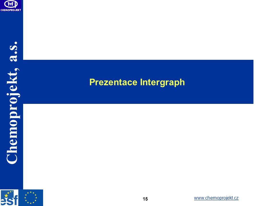 Prezentace Intergraph