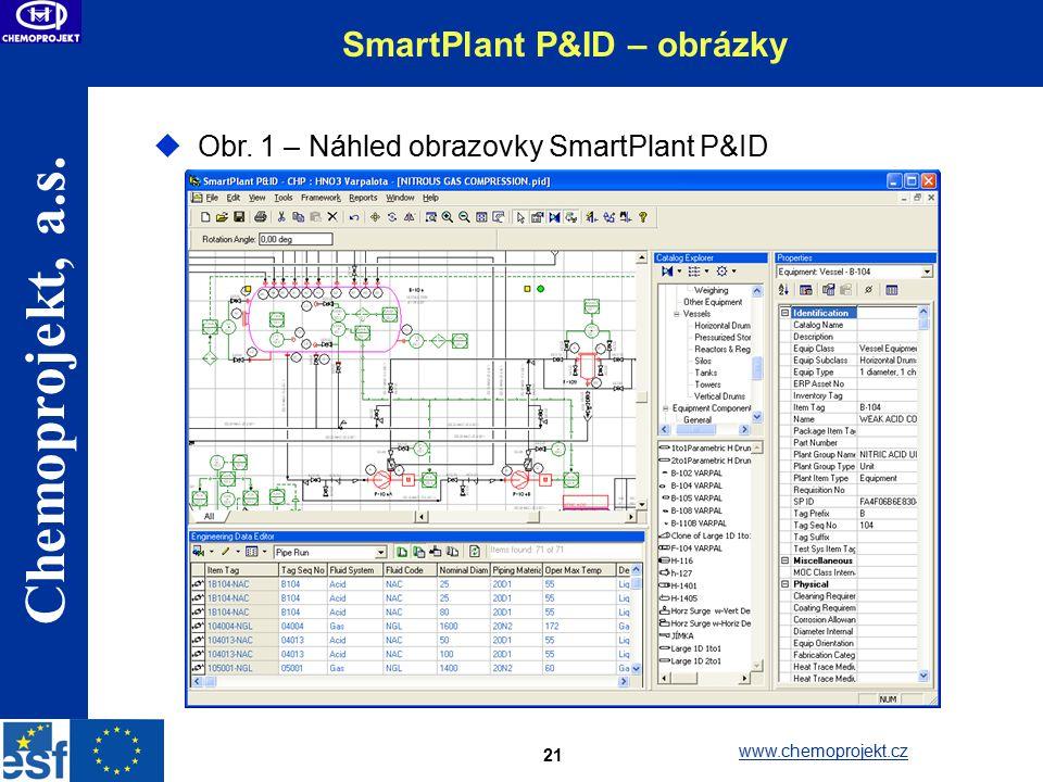SmartPlant P&ID – obrázky
