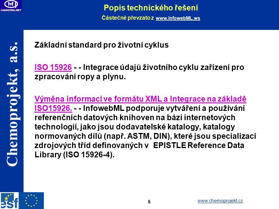 Popis technického řešení Částečně převzato z www.InfowebML.ws