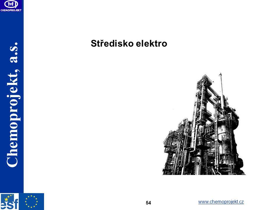 Středisko elektro www.chemoprojekt.cz
