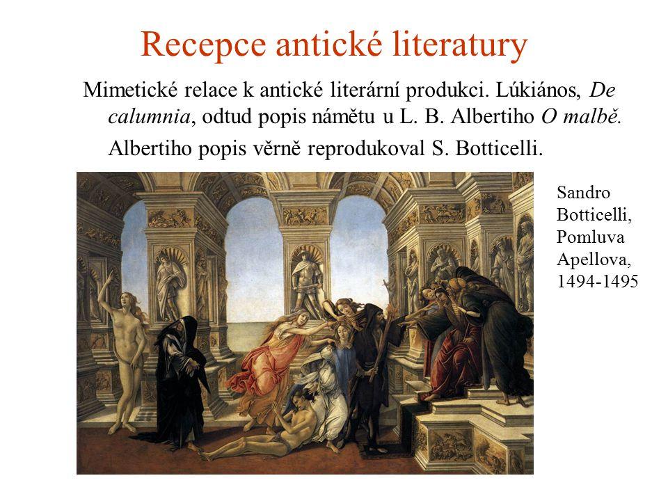 Recepce antické literatury
