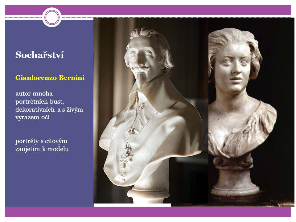 Sochařství Gianlorenzo Bernini