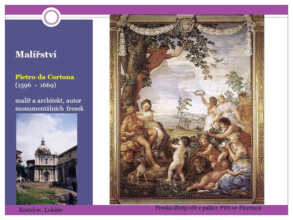 Malířství Pietro da Cortona (1596 - 1669)