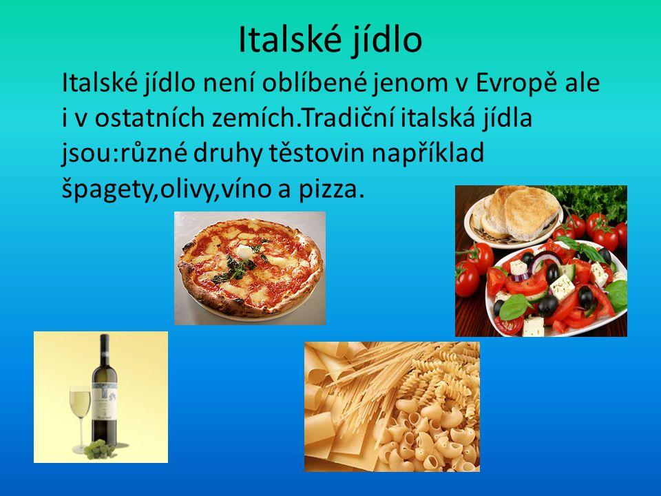 Italské jídlo