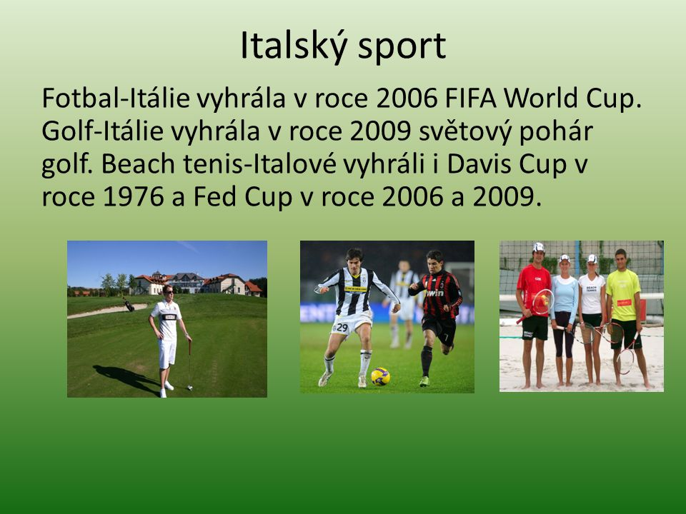 Italský sport