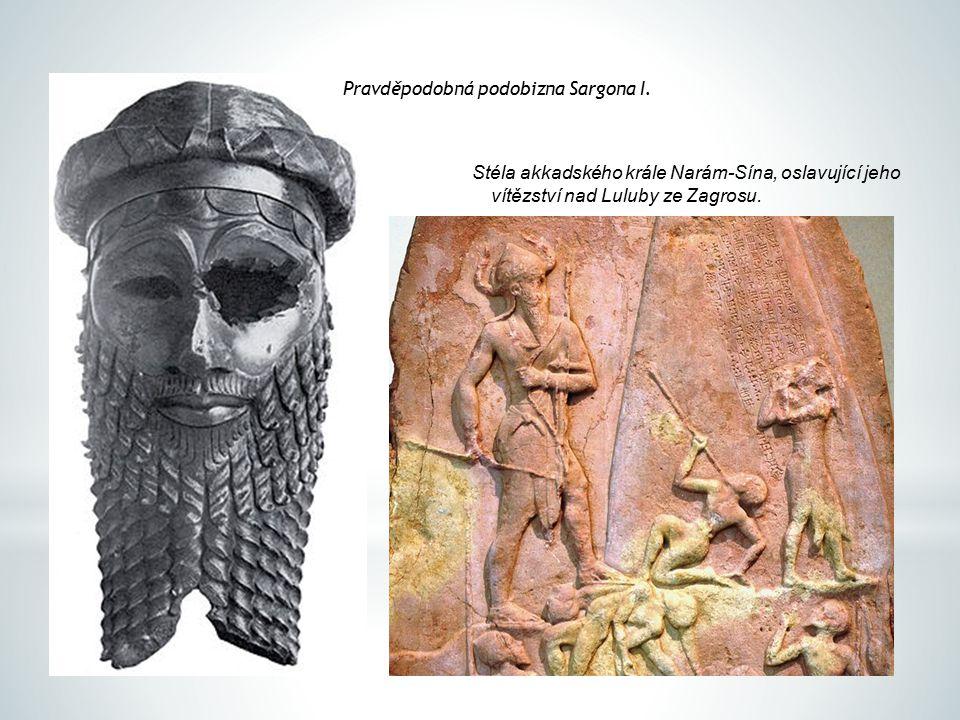 Pravděpodobná podobizna Sargona I.