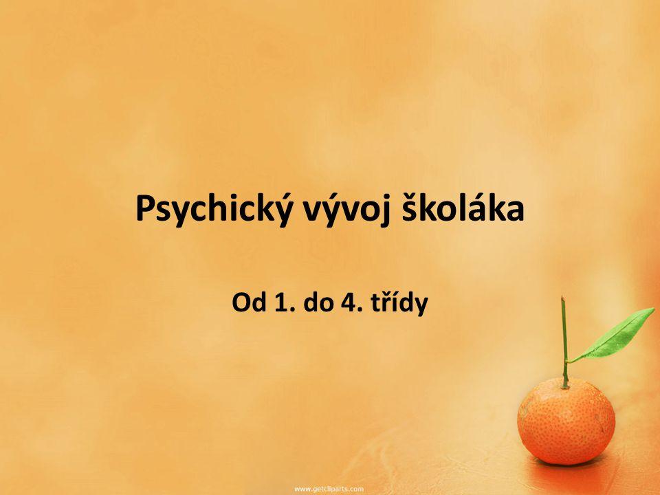 Psychický vývoj školáka