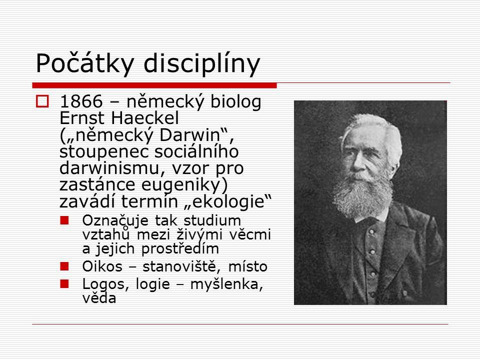 Počátky disciplíny