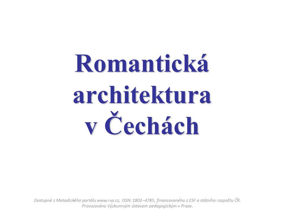 Romantická architektura v Čechách
