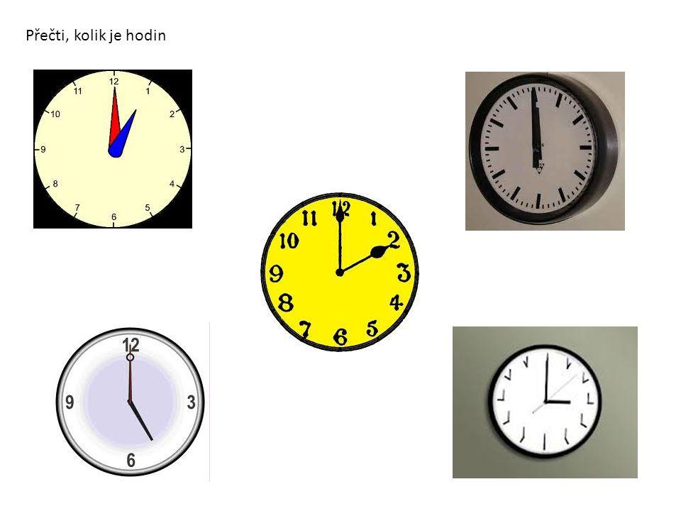 Přečti, kolik je hodin
