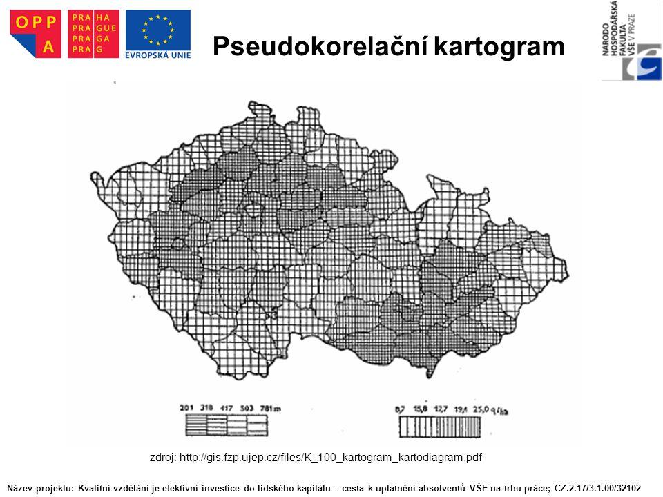 Pseudokorelační kartogram