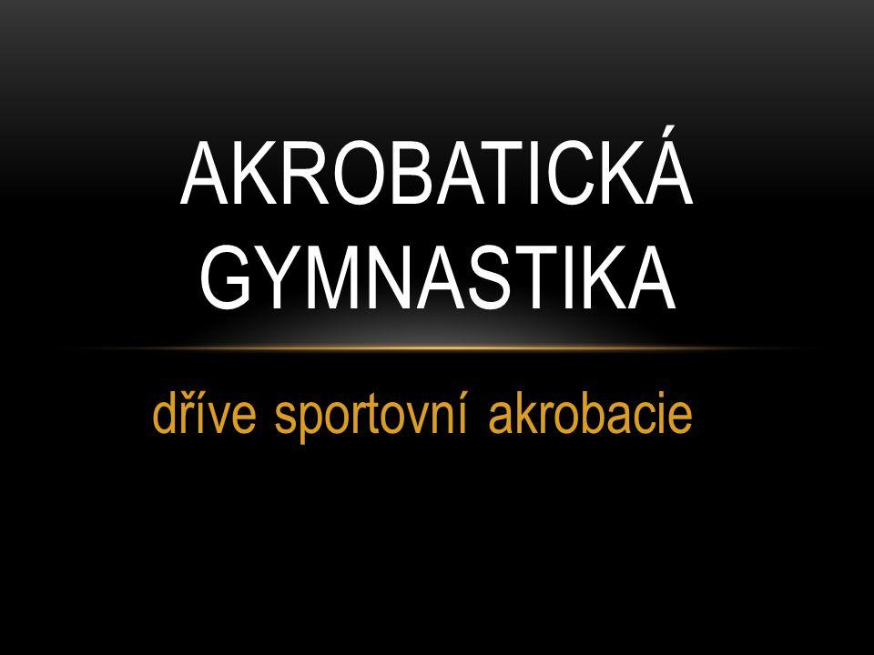 Akrobatická gymnastika