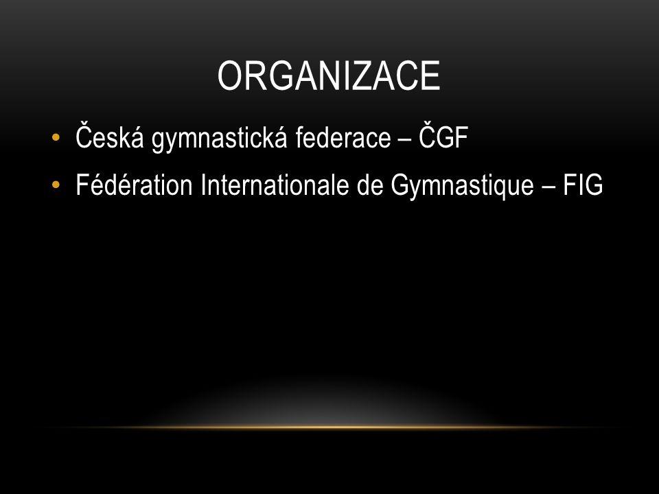 Organizace Česká gymnastická federace – ČGF