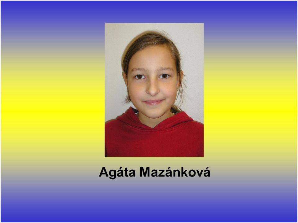 Agáta Mazánková