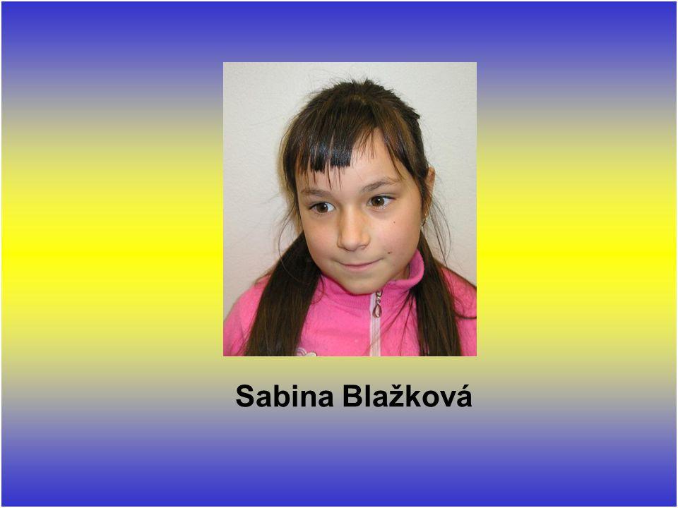 Sabina Blažková
