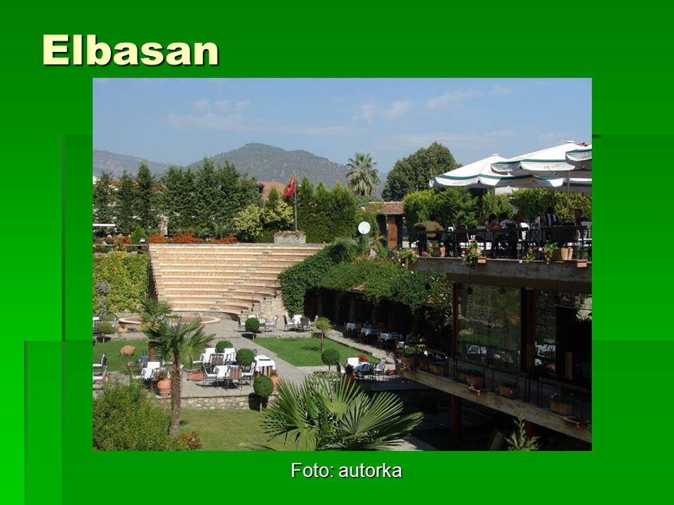 Elbasan Foto: autorka