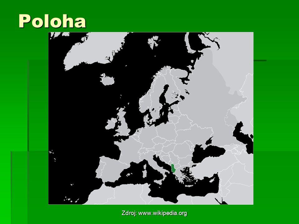 Poloha Zdroj: www.wikipedia.org
