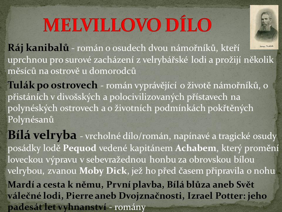 MELVILLOVO DÍLO