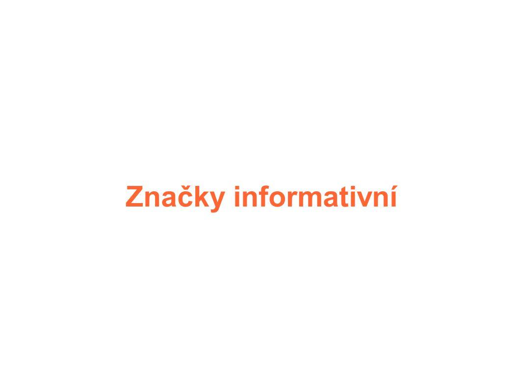 Značky informativní