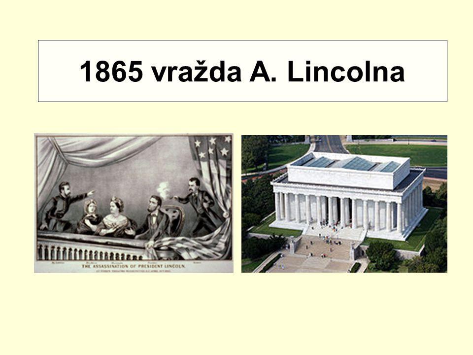 1865 vražda A. Lincolna