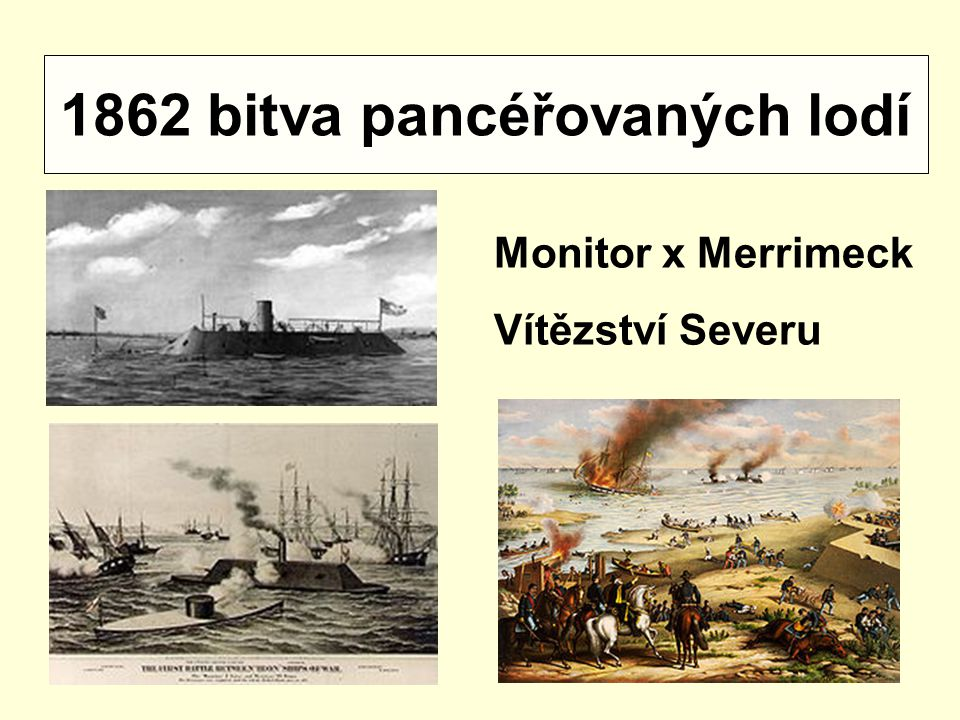 1862 bitva pancéřovaných lodí