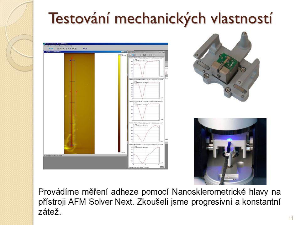 Testování mechanických vlastností