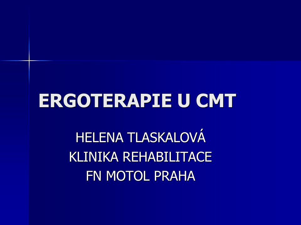 HELENA TLASKALOVÁ KLINIKA REHABILITACE FN MOTOL PRAHA