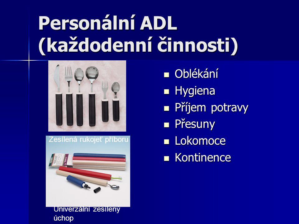 Personální ADL (každodenní činnosti)