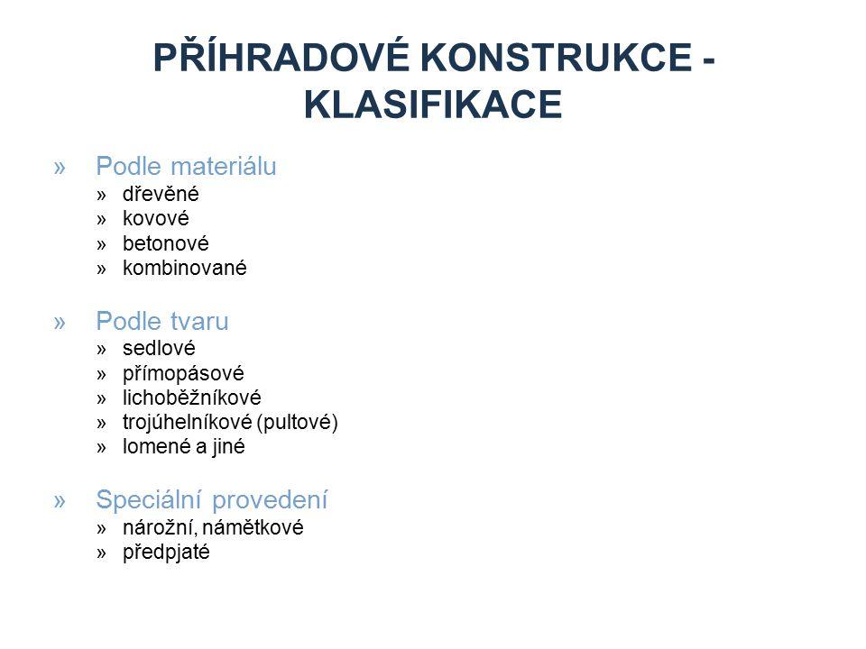 Příhradové konstrukce - Klasifikace