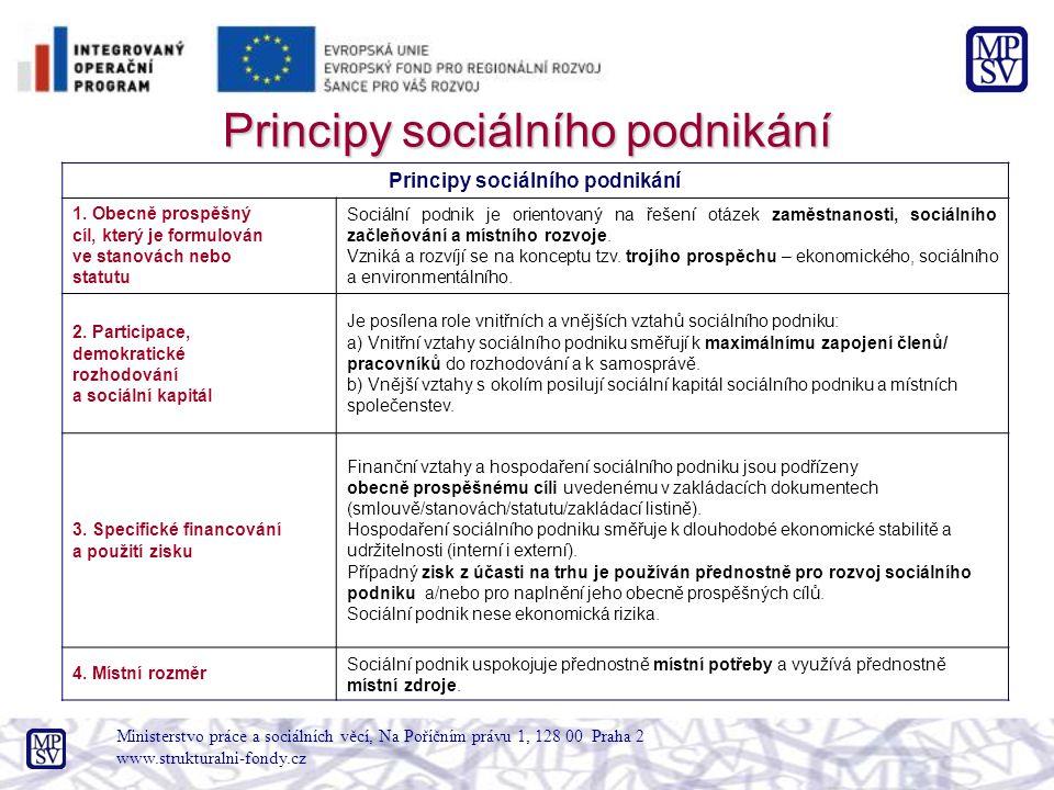 Principy sociálního podnikání