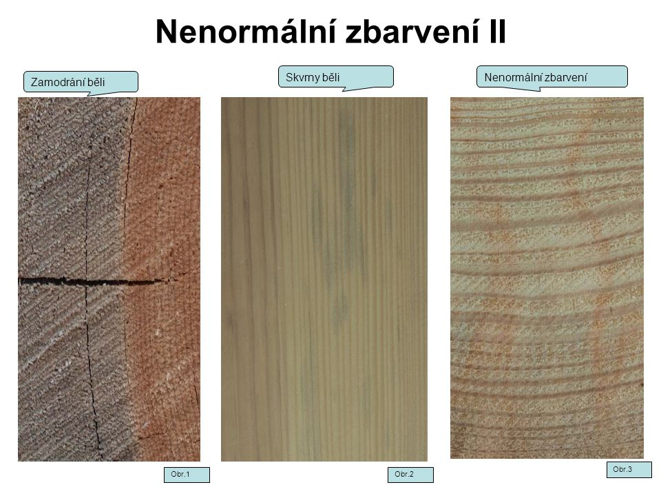 Nenormální zbarvení II