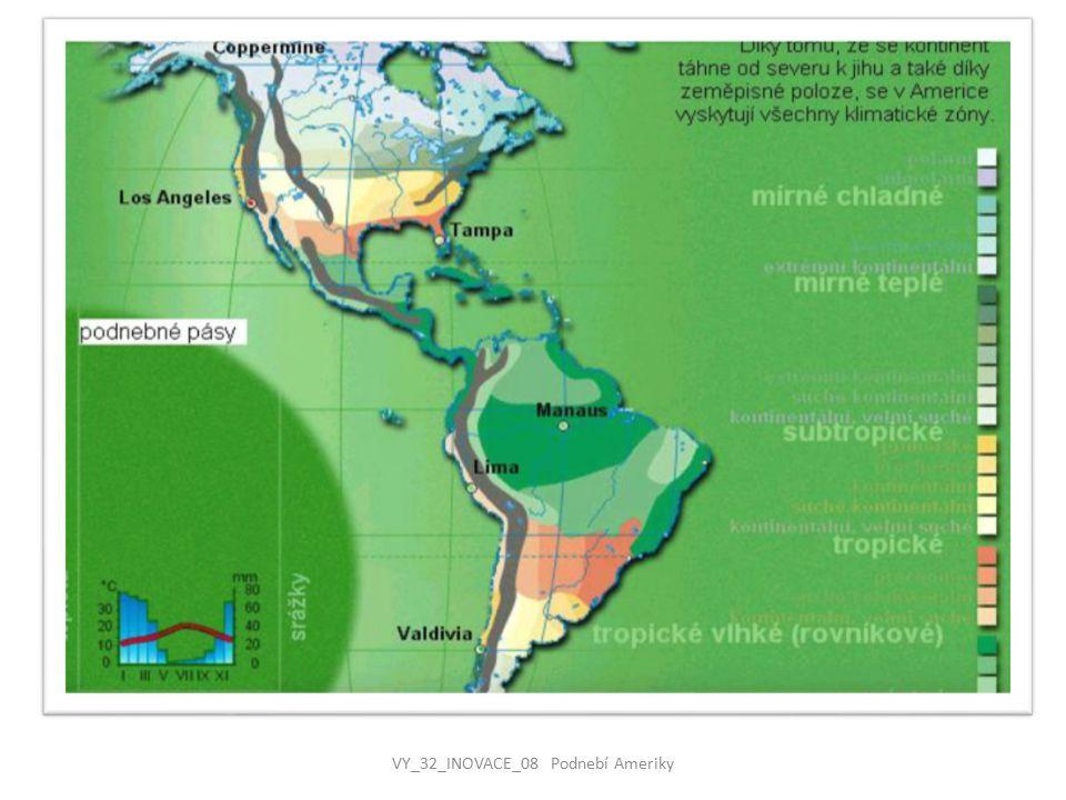 VY_32_INOVACE_08 Podnebí Ameriky