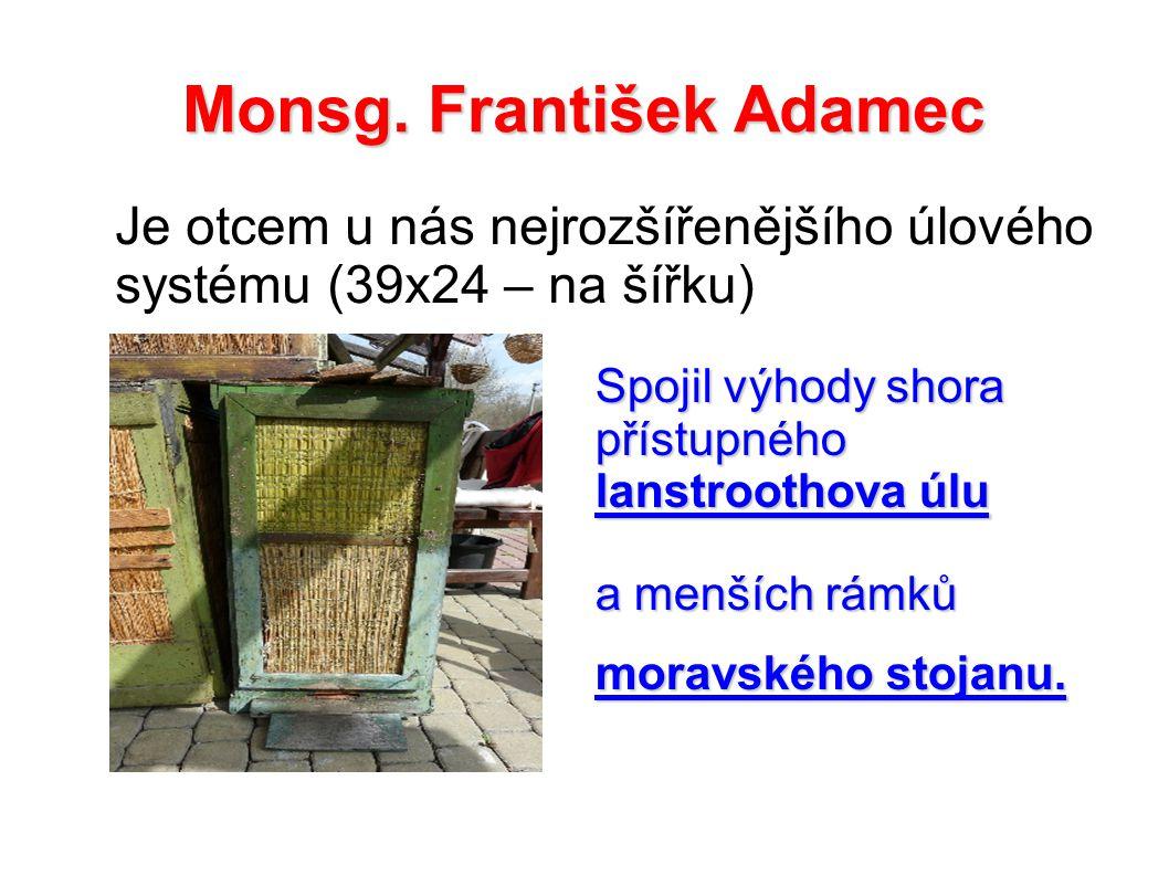 Monsg. František Adamec