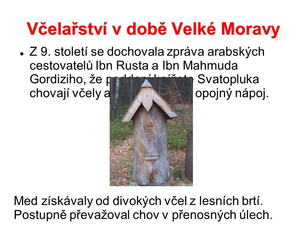 Včelařství v době Velké Moravy