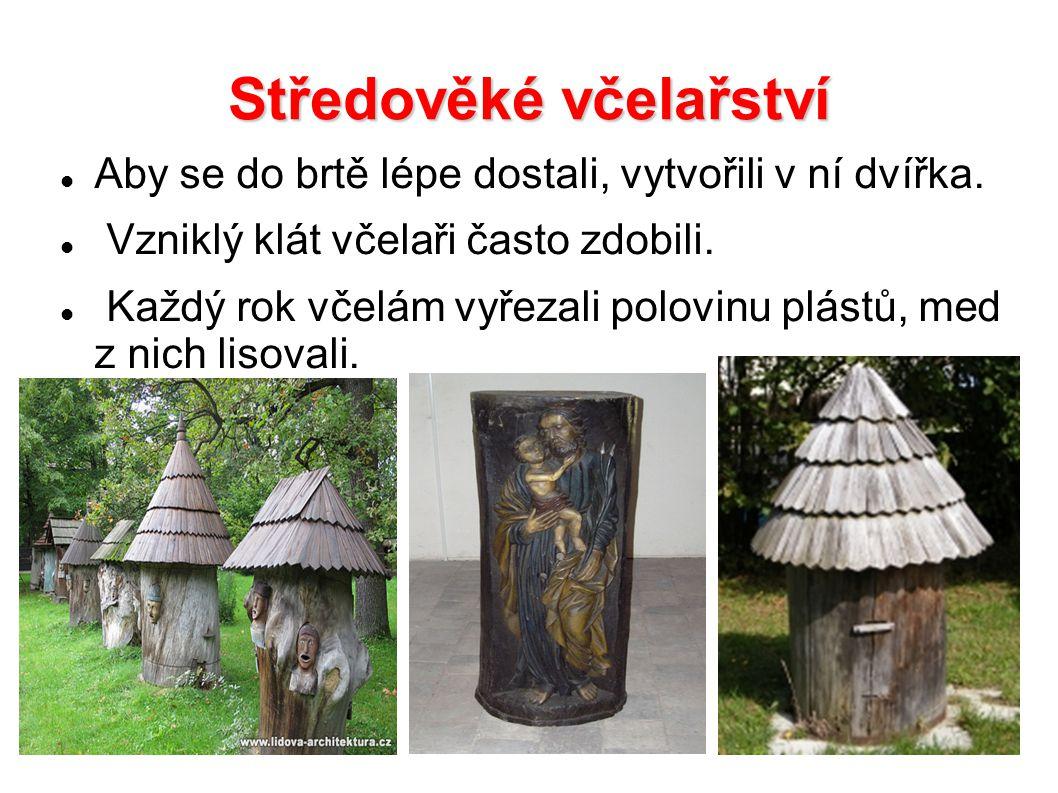 Středověké včelařství