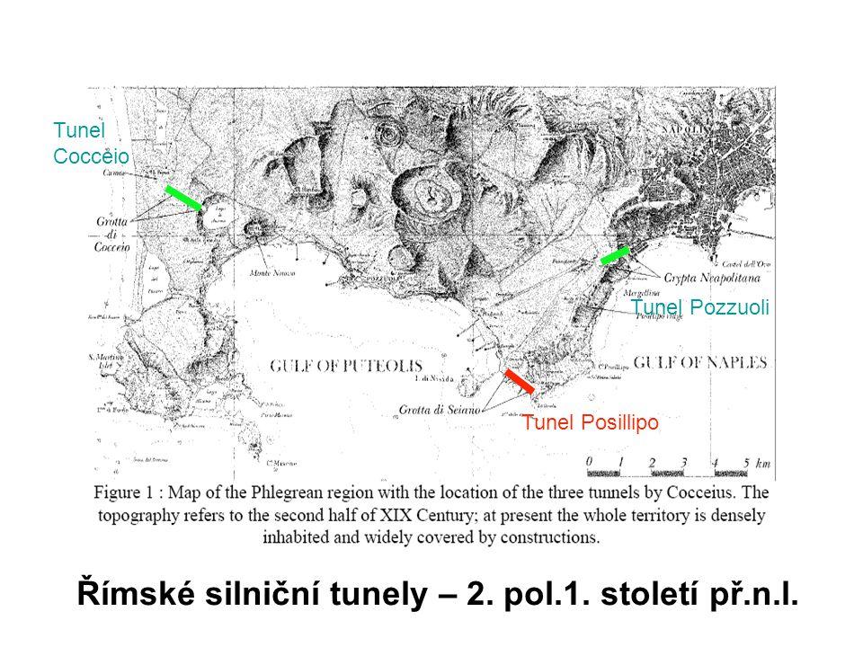 Římské silniční tunely – 2. pol.1. století př.n.l.