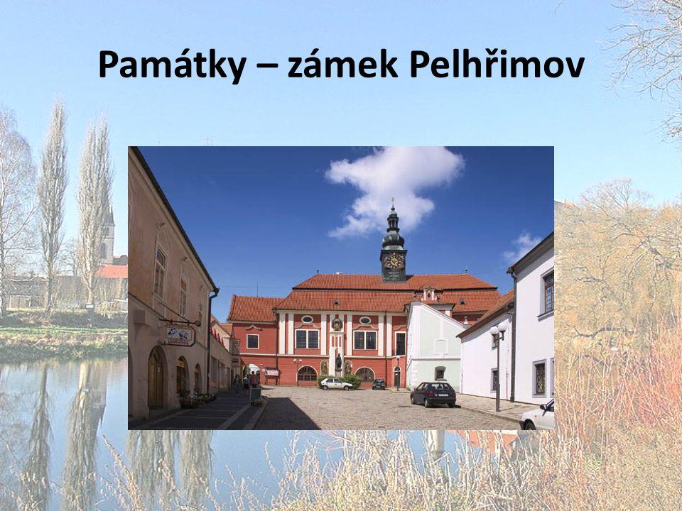 Památky – zámek Pelhřimov