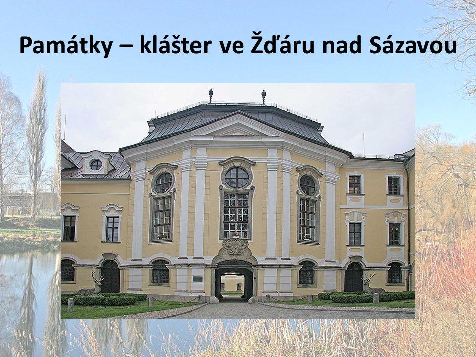 Památky – klášter ve Žďáru nad Sázavou