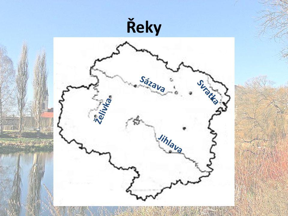Řeky Sázava Svratka Želivka Jihlava