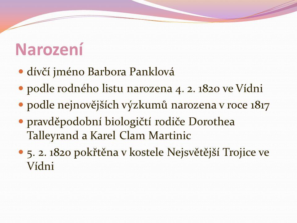 Narození dívčí jméno Barbora Panklová