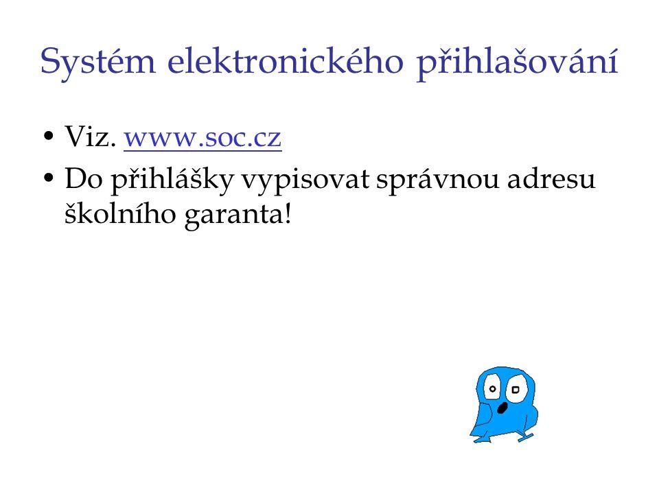 Systém elektronického přihlašování