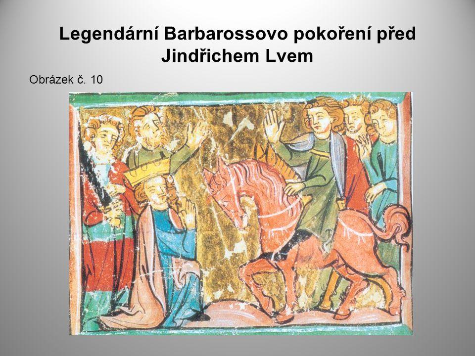 Legendární Barbarossovo pokoření před Jindřichem Lvem