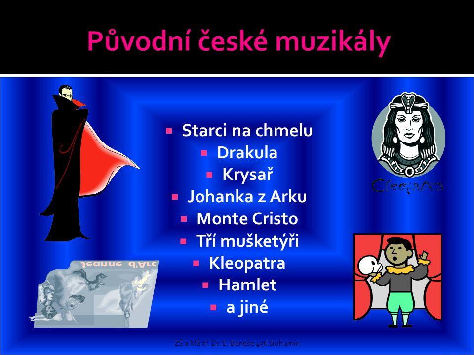Původní české muzikály
