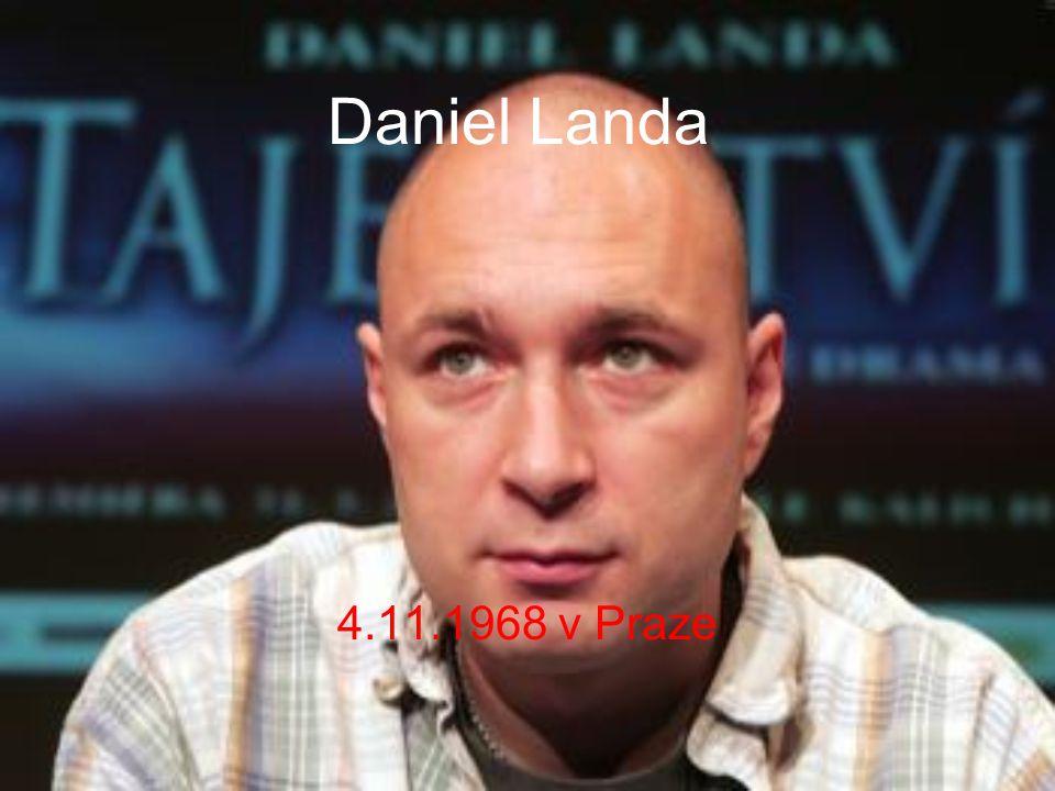 Daniel Landa 4.11.1968 v Praze