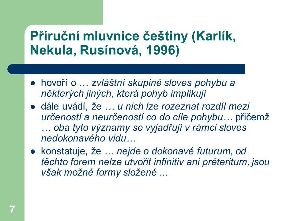Příruční mluvnice češtiny (Karlík, Nekula, Rusínová, 1996)