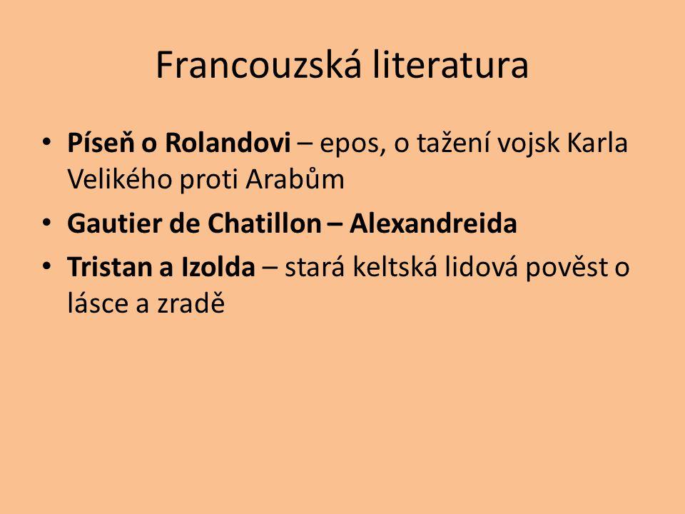 Francouzská literatura