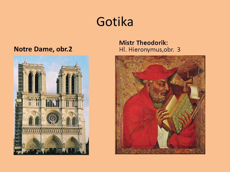 Gotika Notre Dame, obr.2 Mistr Theodorik: Hl. Hieronymus,obr. 3
