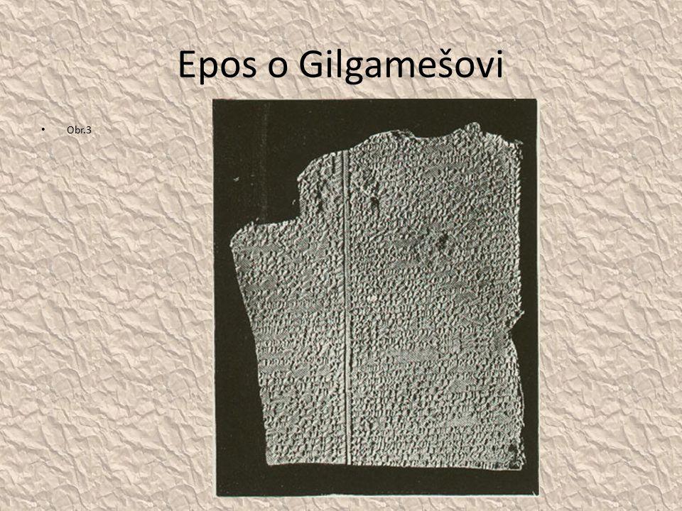 Epos o Gilgamešovi Obr.3