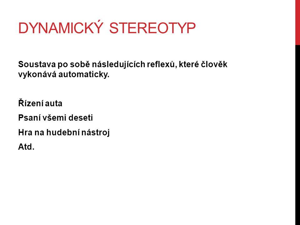 Dynamický stereotyp