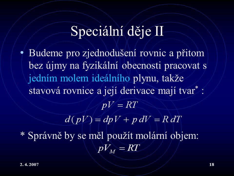 Speciální děje II